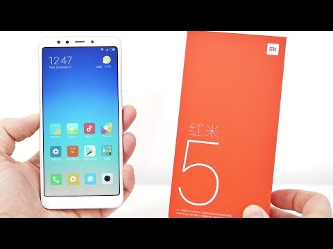 Xiaomi Redmi 5 Unboxing, Hands-On and Benchmark Results, 5.7
