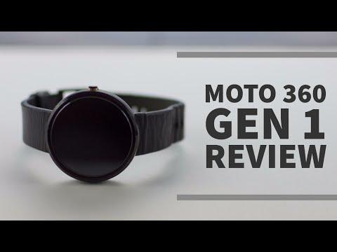 Moto 360 Gen 1 Review: Still viable in 2017?