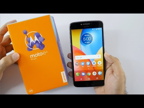 Moto E4 Plus Unboxing & Overview Smartphone with 5000 mah battery