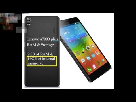 Lenovo a70000 vs Lenovo a7000 plus