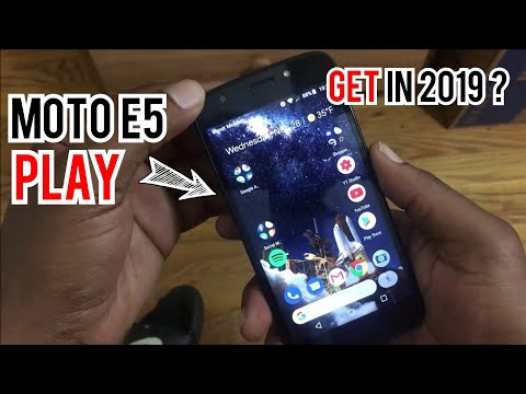 Moto E5 Play good for 2019?