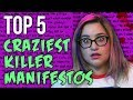 Top 5 Letters From Murderers // Dark 5  ...