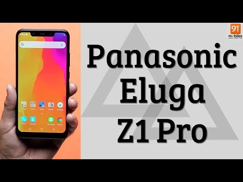 Panasonic Eluga Z1 Pro: unboxing | First Look | Hands on | Price Hindi हिन्दी