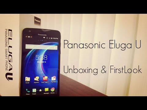 Panasonic Eluga U Unboxing & First Look - PhoneRadar