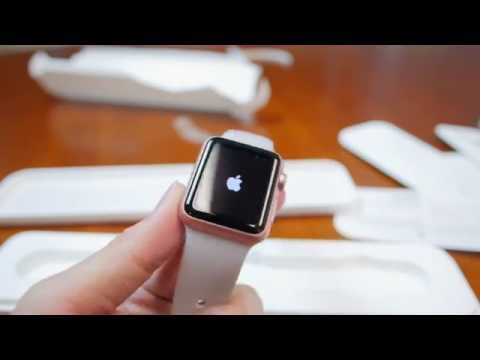 Unboxing the Apple Watch Sport 38mm Rose Gold!