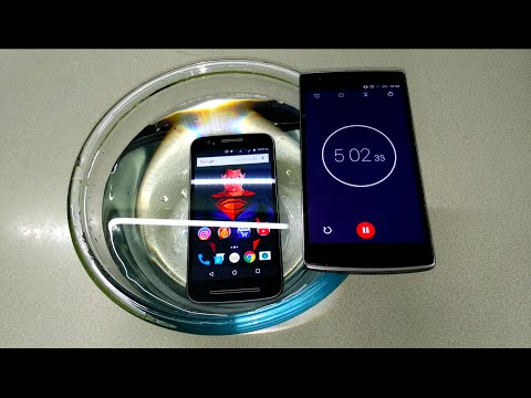 Moto E3 Power Water Test - Will It Survive ?