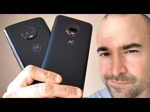 Motorola Moto G7 Plus vs Moto G6 Plus   What's new?