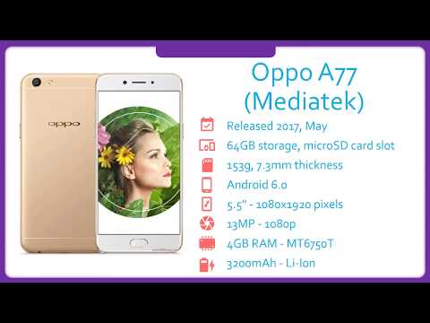 Oppo A77 Mediatek Specification