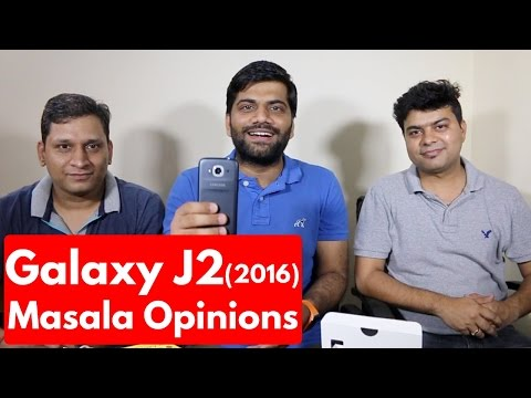 Samsung Galaxy J2 2016   Unboxing & First Look Review GTS