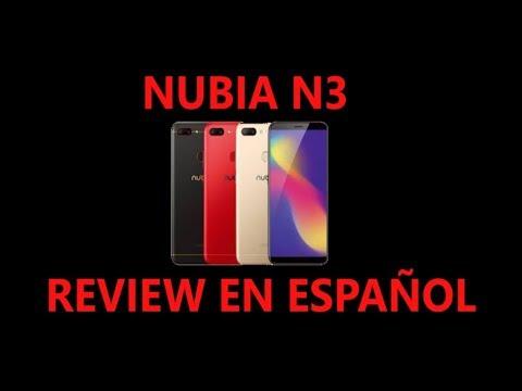 Nubia n3 Review español