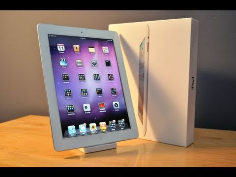 Apple iPad 2 WiFi+3G (White & Black): Unboxing
