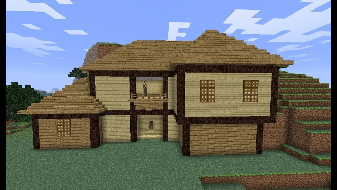 Красивые дома в майнкрафте фото и схемы как строить