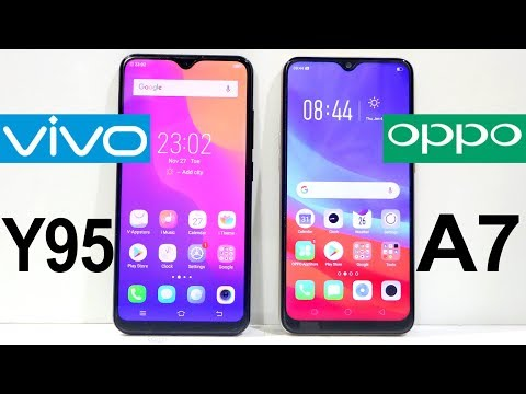 Vivo Y95 Vs Oppo A7 Speed Test