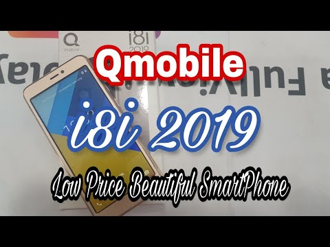 Qmobile i8i 2019 unBoxing & review (Gold) in urdu/hindi - (8,000 Rs) - iTinbox
