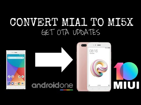 HOW TO CONVERT MIA1 TO MI5X