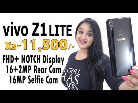 Vivo Z1 Lite - My Opinion