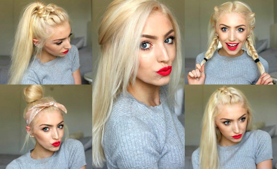 Hairstyles 5 Easy Spring Summer Hairstyles 2016