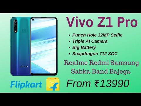 Vivo Z1 Pro Price in India, Launch, 32Mp Selfie, Snapdragon 712, Realme Redmi Ki laga Dega Ye