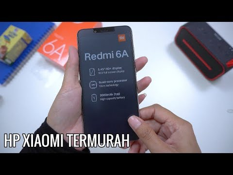 UNBOXING XIAOMI REDMI 6A Indonesia!