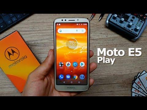 Moto E5 Play Android Go [Análise / Review] - TecNoob