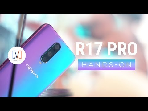 OPPO R17 Pro Hands-On (RX17 Pro)