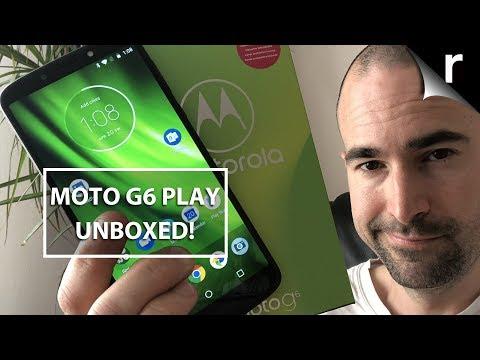 Moto G6 Play Unboxing & Full Tour