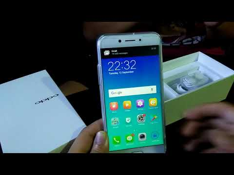 Unboxing and review OPPO A77 (CPH1715/Mediatek), Powerbank Pineng 20000 mah and Olike OPPO A77 cover