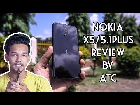 Nokia X5 / 5.1 Plus Review in Bangla | 4K | ATC