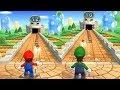 Mario Party 9 Step It Up - Mario vs Luig...