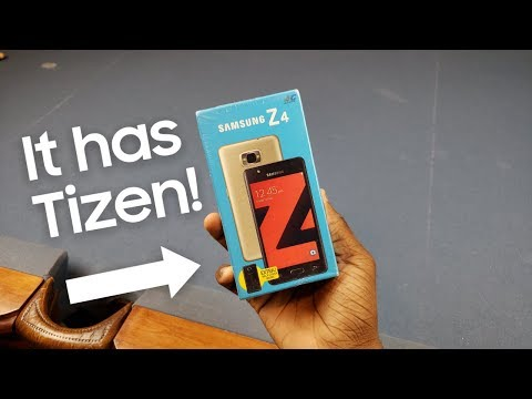 The Samsung Smartphone WITHOUT Android!? | Samsung Z4 Unboxing