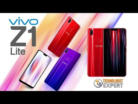 VIVO Z1 Lite, Specifications, Features, Camera, Price, Release Date - Review 2018