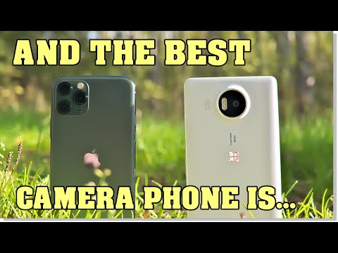 iPhone 11 Pro vs. Lumia 950 XL