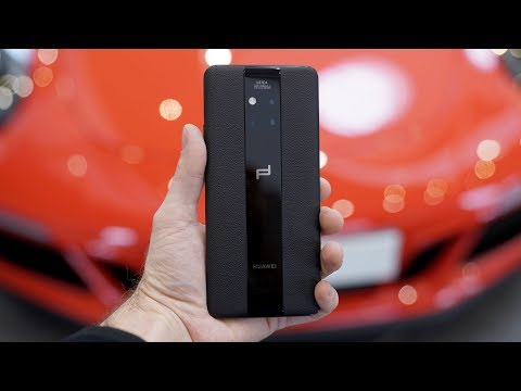 Huawei Mate 20 RS Porsche Design Complete Walkthrough: What a $2000 Phone Feels Like
