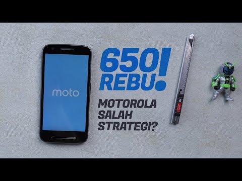 MESIN WAKTU: Moto E3 Power dan Kenapa Lenovo Stop Jualan Smartphone di Indonesia