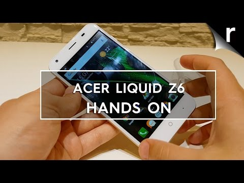 Acer Liquid Z6 hands-on review