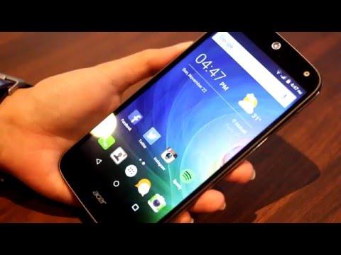 Acer Liquid Z630 Video Review