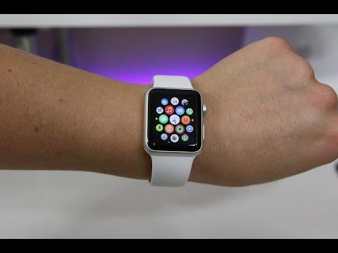 Apple Watch Sport Unboxing -  White 38mm Aluminum