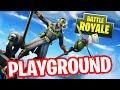 FORTNITE PLAYGROUND !! ft. Aziz | Stream...