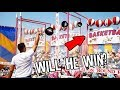 PRO Basketball Player VS Rigged Carnival...