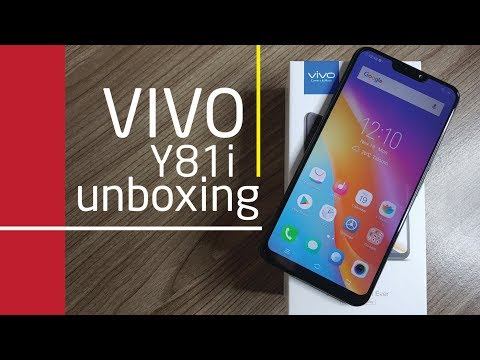 VIVO Y81i UNBOXING and QUICK REVIEW