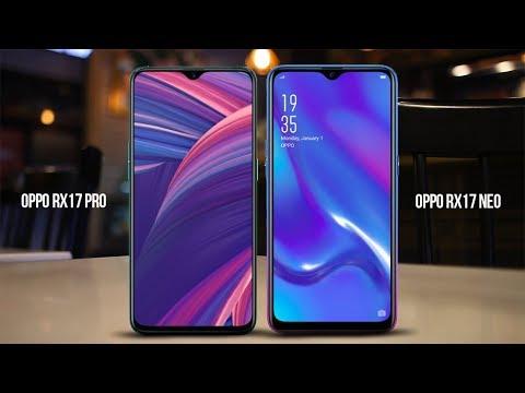 OPPO RX17 Pro Vs OPPO RX17 Neo Specs, Price Comparison