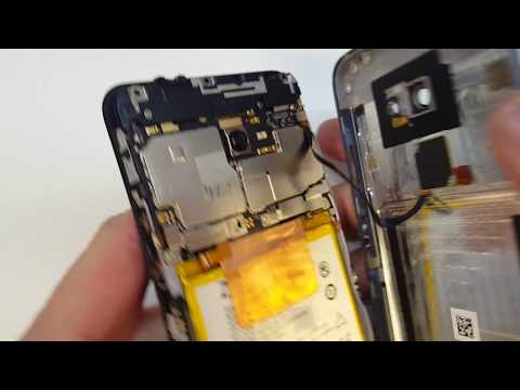 Vodafone Smart V8 disassembly LCD replacement