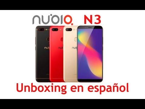 Nubia N3 unboxing español