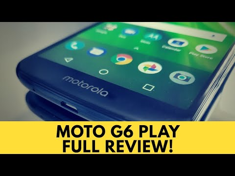Moto G6 Play - Full Review!