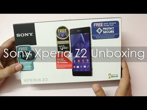 Sony Xperia Z2 Unboxing Indian Unit & Hands on Overview