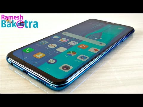 Huawei Y9 2019 Unboxing and Full Review