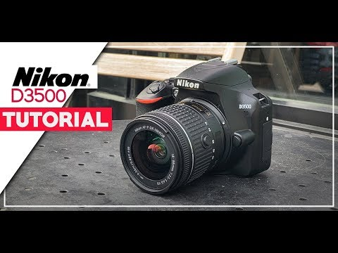 Nikon D3500 Tutorial For Beginners - How To Setup Your New DSLR