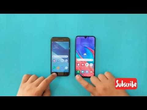 Samsung Galaxy A40 vs Samsung Galaxy A3 2017