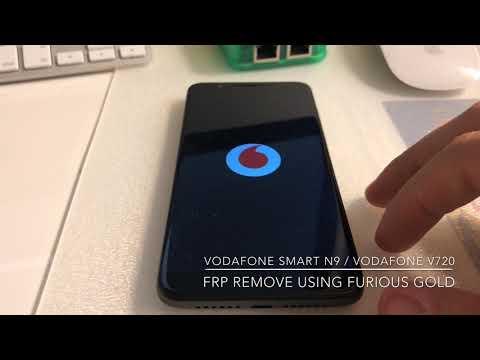 VODAFONE SMART N9 / VODAFONE V720 FRP REMOVE USING FURIOUSGOLD