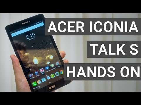 Acer Iconia Talk S Hands On & Quick Review